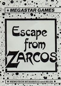 Escape from Zarkos