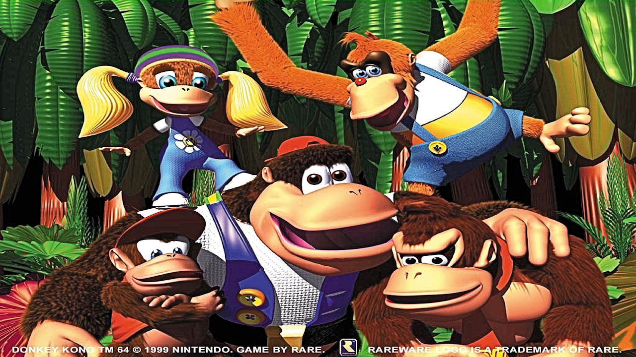 It is a picture of Invaluable Donkey Kong Picture