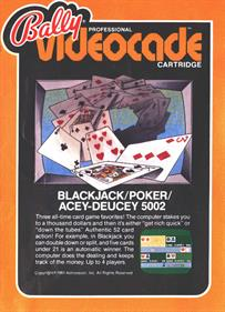 Blackjack + Poker + Acey-Deucey