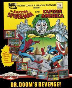 The Amazing Spider-Man and Captain America in Dr. Doom's Revenge!