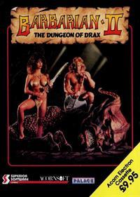 Barbarian II: The Dungeon of Drax