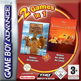 2 Games in 1: Brother Bear & The Lion King