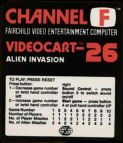Videocart-26: Alien Invasion
