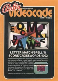 Letter Match + Spell'n Score + Crosswords