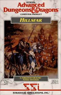 AD&D: Hillsfar