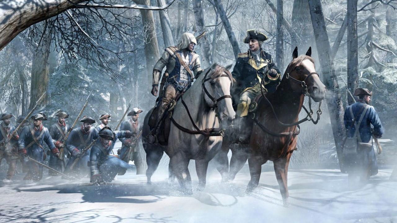 <b>Assassin'-s Creed</b> III <b>Wallpaper</b> HD - WallpaperSafari