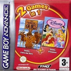 2 Games in 1: Frere des Ours + Disney Princesse