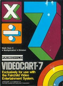 Videocart-7: Math Quiz II  (Multiplication & Division)