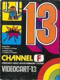 Videocart-13: Robot War, Torpedo Alley