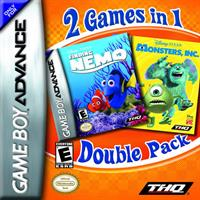 2 Games in 1: Finding Nemo & Monsters Inc.