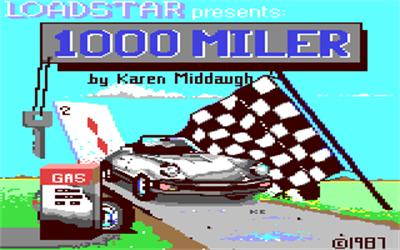 1000 Miler - Screenshot - Game Title