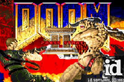 Doom II - Screenshot - Game Title