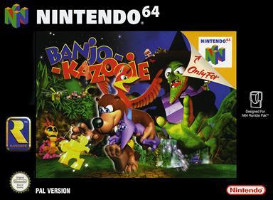 Banjo-Kazooie - Box - Front