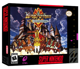 King Arthur & the Knights of Justice - Box - 3D