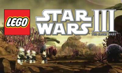 LEGO Star Wars III: The Clone Wars - Screenshot - Game Title