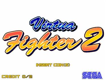Virtua Fighter 2 - Screenshot - Game Title