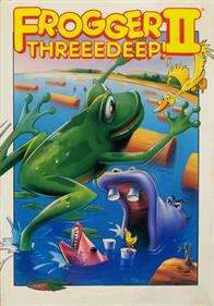 Frogger II: ThreeeDeep! - Box - Front