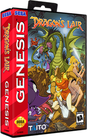 Dragon's Lair: The Adventure Continues - Box - 3D