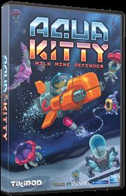Aqua Kitty: Milk Mine Defender - Box - 3D