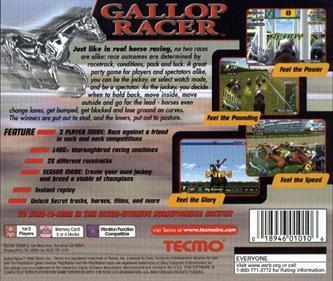 Gallop Racer - Box - Back