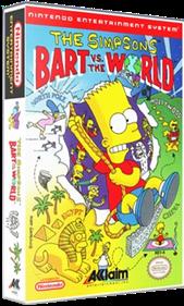 The Simpsons: Bart vs. the World - Box - 3D