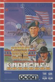 Combat School - Advertisement Flyer - Front