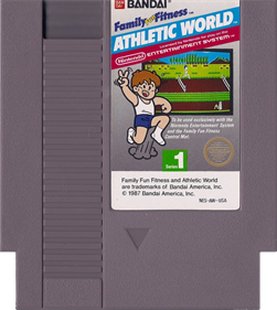 Athletic World - Cart - Front