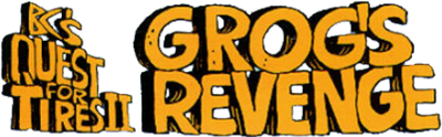 B.C.'s Quest for Tires II: Grog's Revenge - Clear Logo