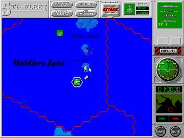 5th Fleet - Screenshot - Gameplay