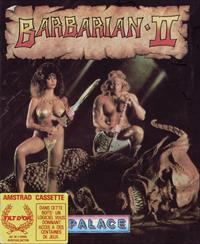 Barbarian II: The Dungeon of Drax - Box - Front