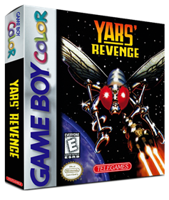 Yars' Revenge - Box - 3D