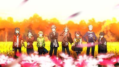 Shin Megami Tensei: Persona 4 - Fanart - Background