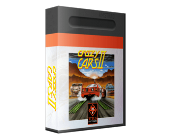 Crazy Cars II - Box - 3D