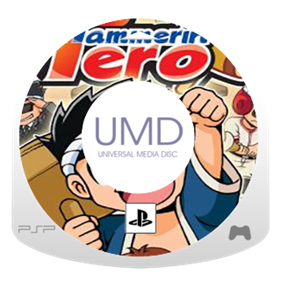 Hammerin' Hero - Fanart - Disc