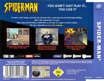 Spider-Man - Box - Back