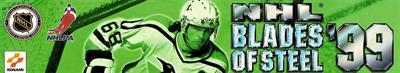 NHL Blades of Steel '99 - Banner