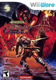 Castlevania: The Adventure ReBirth - Fanart - Box - Front