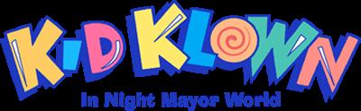 Kid Klown in Night Mayor World - Clear Logo