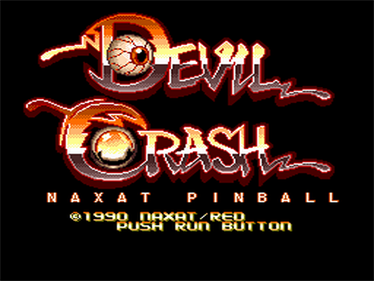Devil's Crush - Screenshot - Game Title
