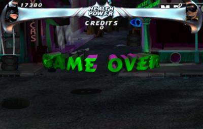 Batman Forever - Screenshot - Game Over