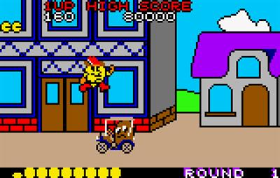 Pac-Land - Screenshot - Gameplay