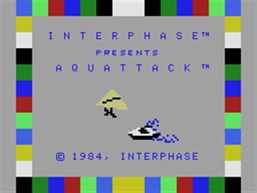 Aquattack - Screenshot - Game Title