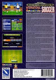 International Sensible Soccer: World Champions - Box - Back