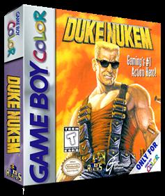 Duke Nukem - Box - 3D