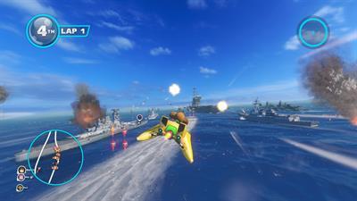 Sonic & All-Stars Racing Transformed - Screenshot - Gameplay