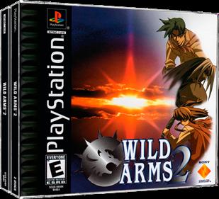 Wild Arms 2 - Box - 3D