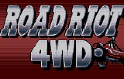 Road Riot 4WD - Screenshot - Game Title