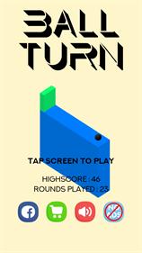 Ball turn - Screenshot - Game Title
