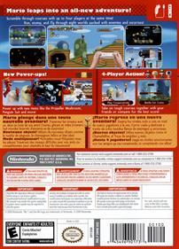 New Super Mario Bros. Wii - Box - Back