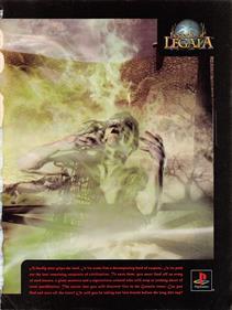Legend of Legaia - Advertisement Flyer - Front